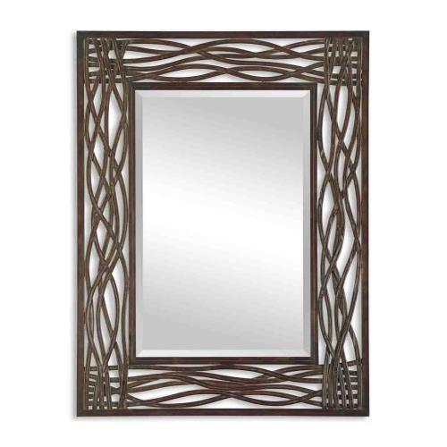 Uttermost 13707 Dorigrass - 42 inch Mirror - 32 inches wide by 0.5 inches deep
