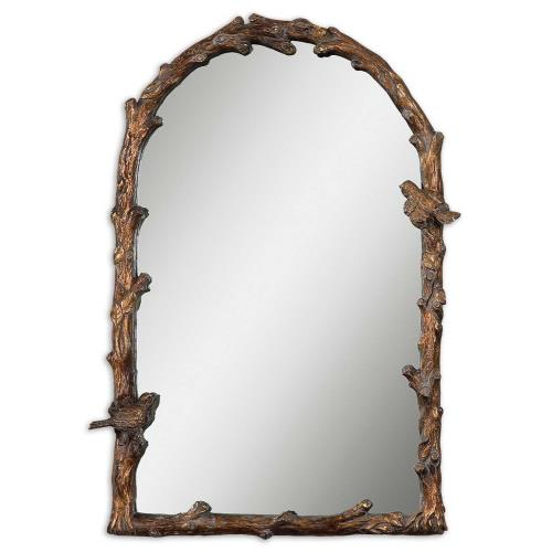 Uttermost 13774 Paza - 36.75 inch Arch Mirror - 26.75 inches wide by 2.5 inches deep