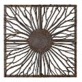 Josiah - 26.88 inch Square Wall Art - 26.88 inches wide by 2 inches deep - 244762