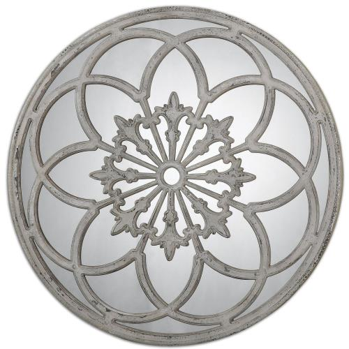 Uttermost 13868 Conselyea - 39.75 inch Round Mirror - 39.75 inches wide by 2.13 inches deep