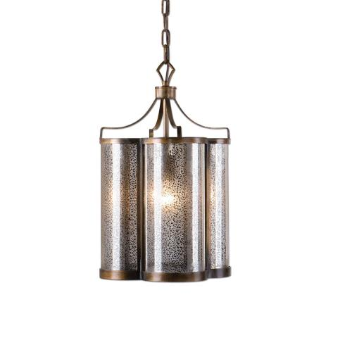 Uttermost 22061 Croydon Pendant 1 Light - 12.5 inches wide by 12.5 inches deep