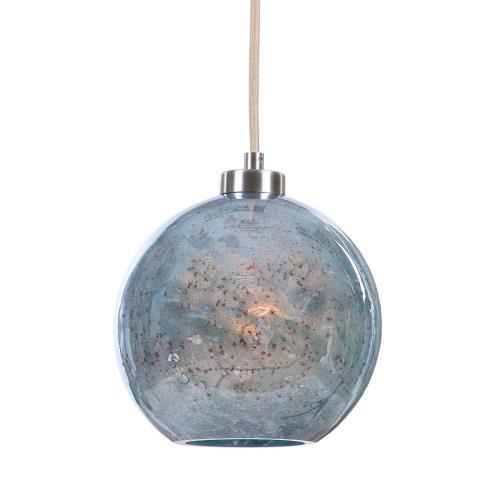 Uttermost 22198 Gemblue Mini Pendant 1 Light