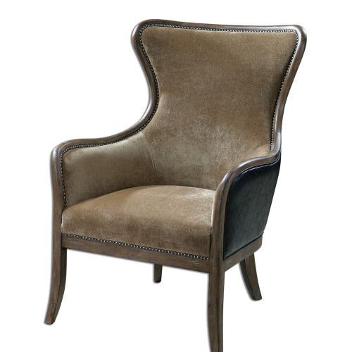 Uttermost 23158 Snowden - 41.5 inch Wing Chair