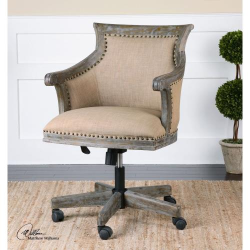 "Uttermost 23175 Kimalina - 36.5"" Accent Chair"