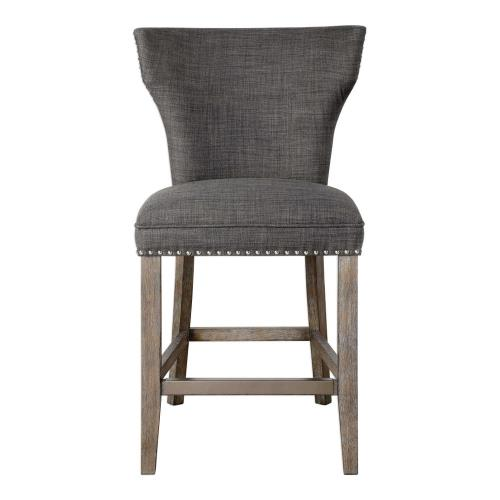 Uttermost 23433 Arnaud - 39 inch Counter Stool - 23 inches wide by 26 inches deep