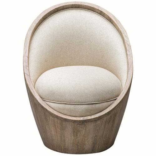 Uttermost 23479 Noemi - 38 inch Morden Accent Chair