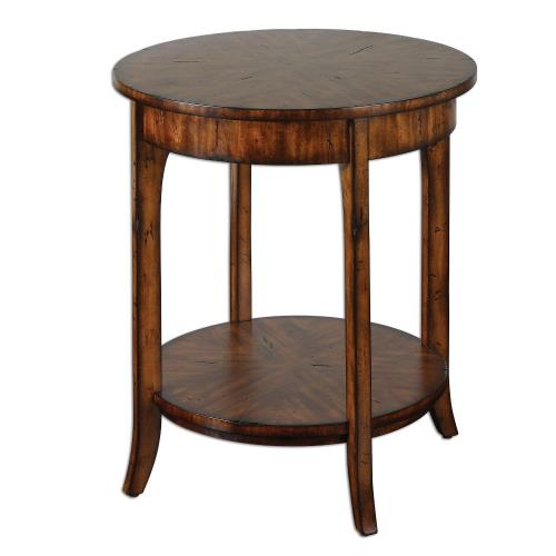 Uttermost 24228 Carmel - 26.5 inch Round Lamp Table