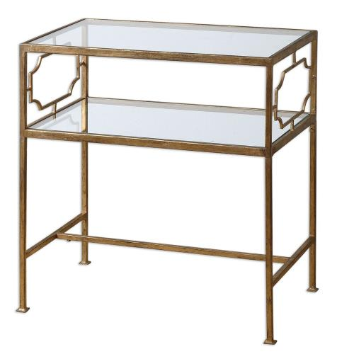 Uttermost 24335 Genell - 25.75 inch Side Table