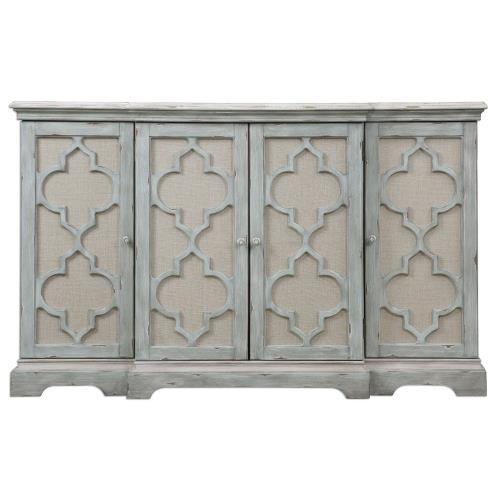 Uttermost 24520 Sophie - 60 inch 4 Door Cabinet