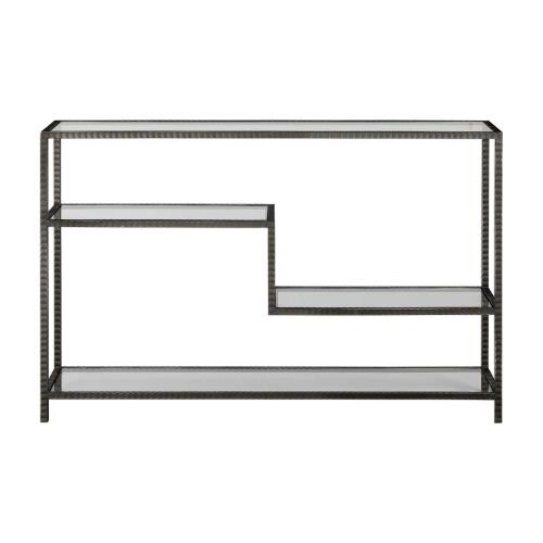 Uttermost 24810 Leo - 52 inch Industrial Console Table