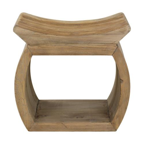 Uttermost 24814 Connor - 18 inch Elm Accent Stool