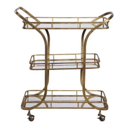 Uttermost 24876 Stassi - 36.75 inch Serving Cart