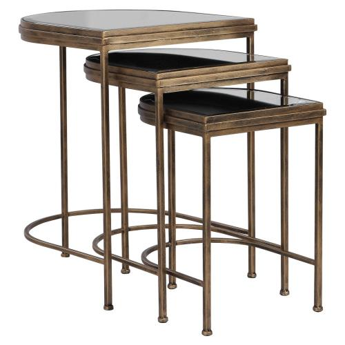 Uttermost 24908 India - 24 inch Nesting Tables (Set of 3)