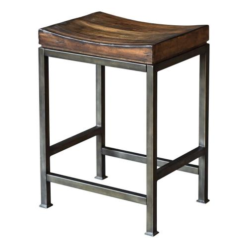 Uttermost 25441 Beck - 24 inch Counter Stool