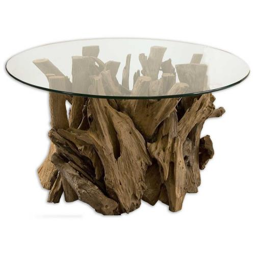 Uttermost 25519 Driftwood - 36 inch Cocktail Table