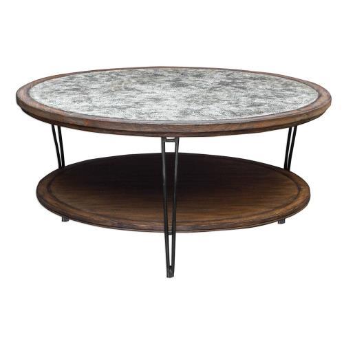 Uttermost 25780 Saskia - 44 inch Coffee Table