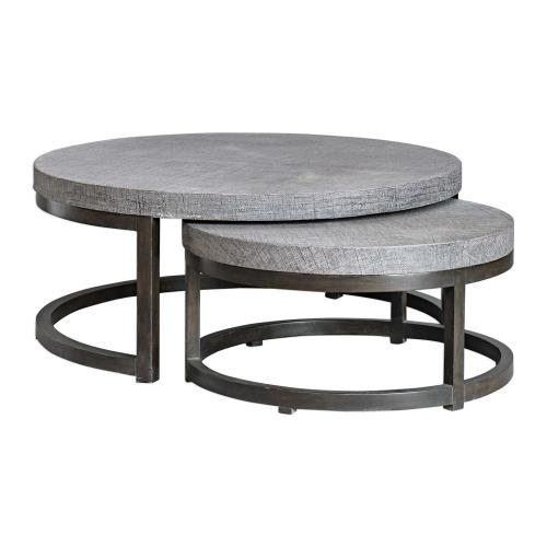 Uttermost 25882 Aiyara - 42.5 inch Nesting Tables (Set of 2)