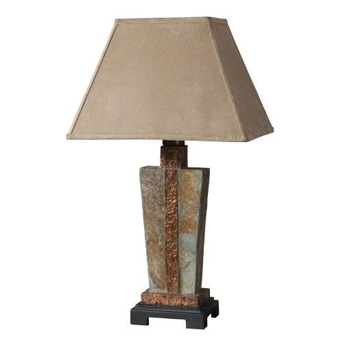 Uttermost 26322-1 Slate - 1 Light Accent Lamp