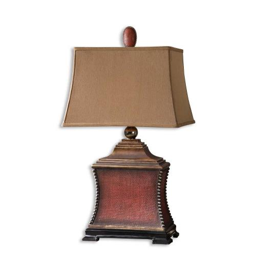Uttermost 26326 Pavia - 1 Light Table Lamp - 18 inches wide by 12 inches deep