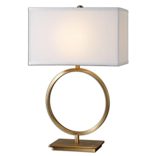 Uttermost 26559-1 Duara - 1 Light Table Lamp - 18.5 inches wide by 9.5 inches deep