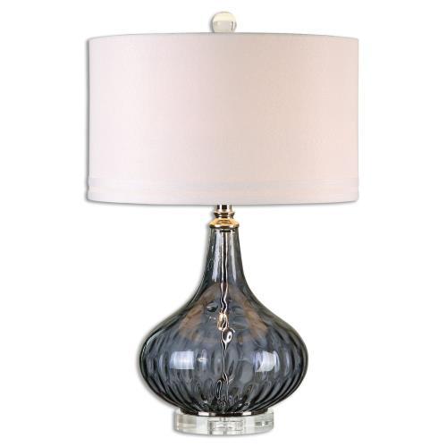 Uttermost 26611-1 Sutera - 1 Light Table Lamp