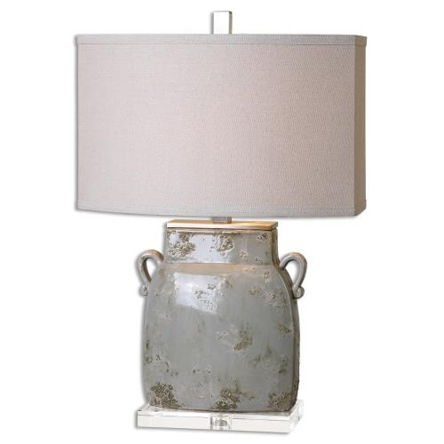 Uttermost 26613-1 Melizzano - 1 Light Table Lamp - 17 inches wide by 10 inches deep