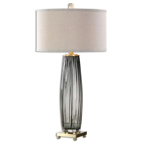 Uttermost 26698-1 Vilminore - 1 Light Table Lamp - 17 inches wide by 17 inches deep