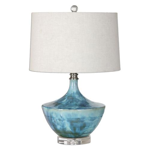 Uttermost 27059-1 Chasida - 1 Light Table Lamp - 15 inches wide by 15 inches deep