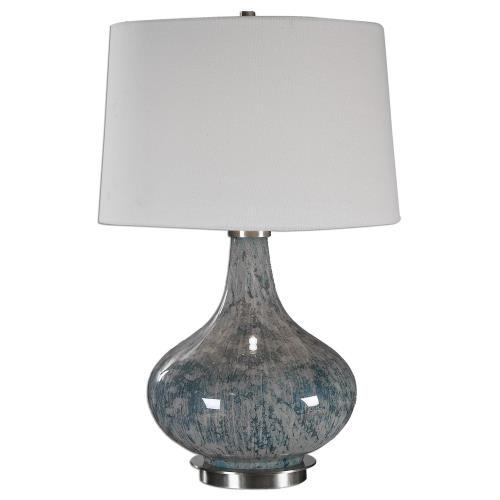 Uttermost 27076 Celinda - 1 Light Table Lamp - 15.5 inches wide by 14 inches deep