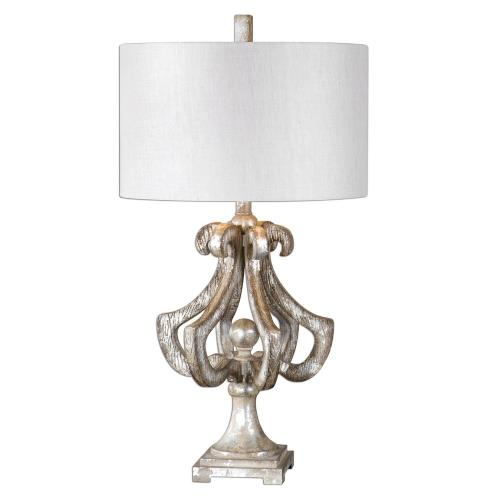 Uttermost 27103-1 Vinadio - 1 Light Table Lamp - 16.5 inches wide by 16.5 inches deep