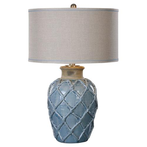 Uttermost 27139-1 Parterre - 1 Light Table Lamp - 19 inches wide by 19 inches deep