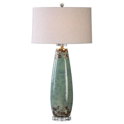 Uttermost 27157-1 Rovasenda - 1 Light Table Lamp - 18 inches wide by 11 inches deep