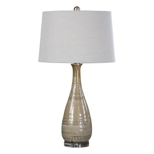 Uttermost 27214 Nakoda - 1 Light Table Lamp - 17 inches wide by 17 inches deep