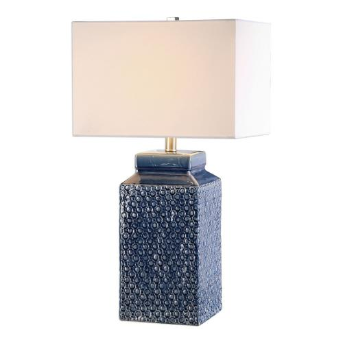 Uttermost 27229-1 Pero - 1 Light Table Lamp - 15 inches wide by 11 inches deep