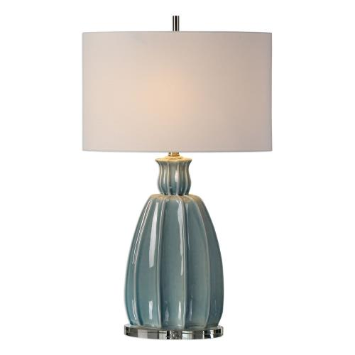 Uttermost 27251 Suzanette - 1 Light Table Lamp - 18 inches wide by 10 inches deep