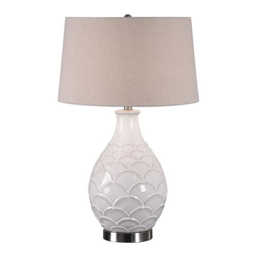 Uttermost 27534-1 Camellia - 1 Light Table Lamp - 17 inches wide by 17 inches deep