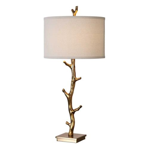 Uttermost 27546 Javor - 1 Light Table Lamp - 15 inches wide by 15 inches deep