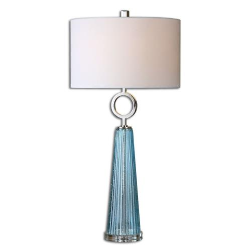 Uttermost 27698-1 Navier - 1 Light Table Lamp - 16.5 inches wide by 16.5 inches deep