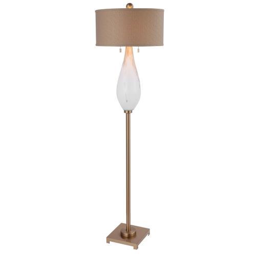 Uttermost 28293-1 Cardoni - 2 Light Floor Lamp