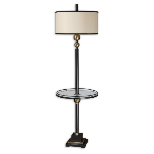Uttermost 28571-1 Revolution - 1 Light Floor Lamp - 19 inches wide by 19 inches deep