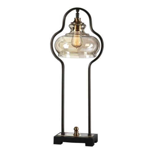 Uttermost 29259-1 Cotulla - 1 Light Table Lamp - 11.5 inches wide by 9.25 inches deep