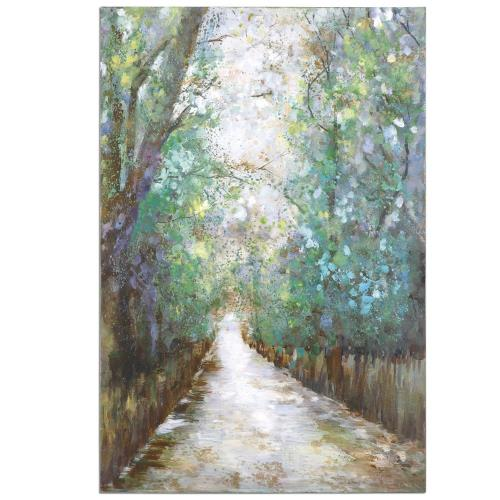 "Uttermost 31315 Greenway - 60"" Landscape Wall Art"