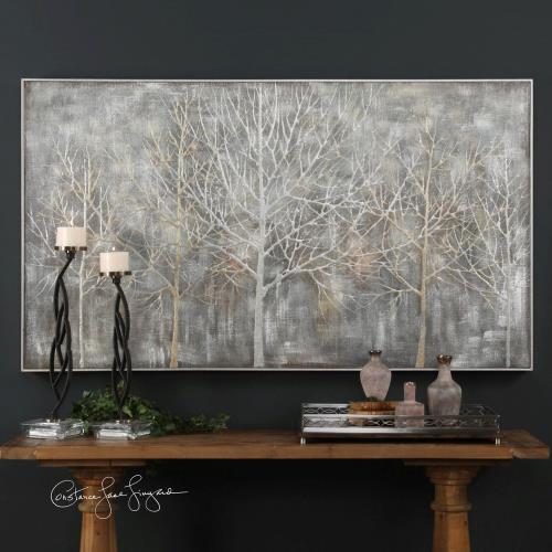 Uttermost 31409 Parkview - 72.75 inch Landscape Art