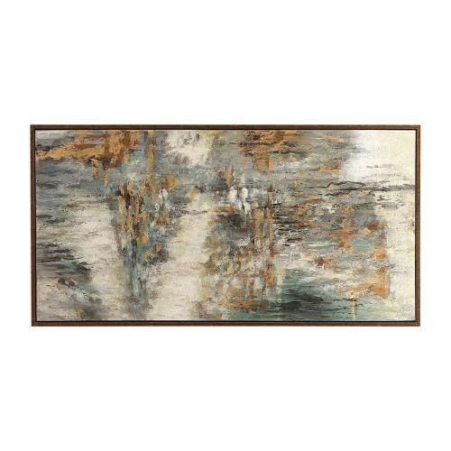 "Uttermost 31414 Behind The Falls - 69.75"" Abstract Wall Art"