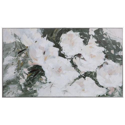 Uttermost 31419 Sweetbay Magnolias - 57 inch Hand Painted Art