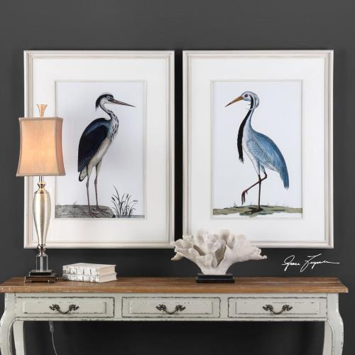 Uttermost 33668 Shore Birds - 42.5 inch Framed Print (Set of 2)