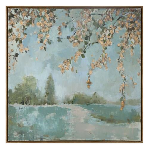 Uttermost 35329 Peaceful - 36.6 inch Landscape Art