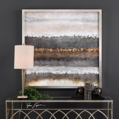 "Uttermost 35352 Layers - 50"" Landscape Wall Art"