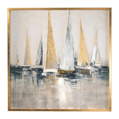 Uttermost 35362 Regatta - 51.63 inch Nautical Art