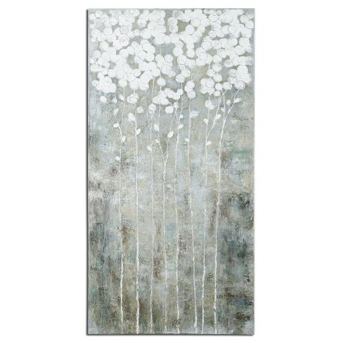 Uttermost 41908 Cotton Florals - 55 inch Wall Art